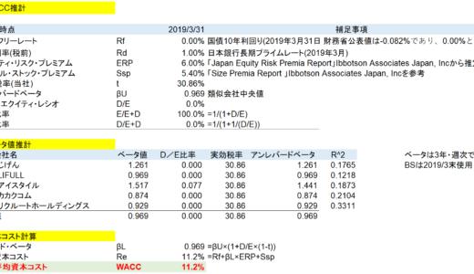 【M&A・事業価値評価】エクセルで非上場企業のWACCを計算する方法
